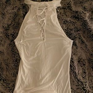 Mock neck tank from Guess